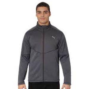 Gray Puma Men's Jacket Size Small